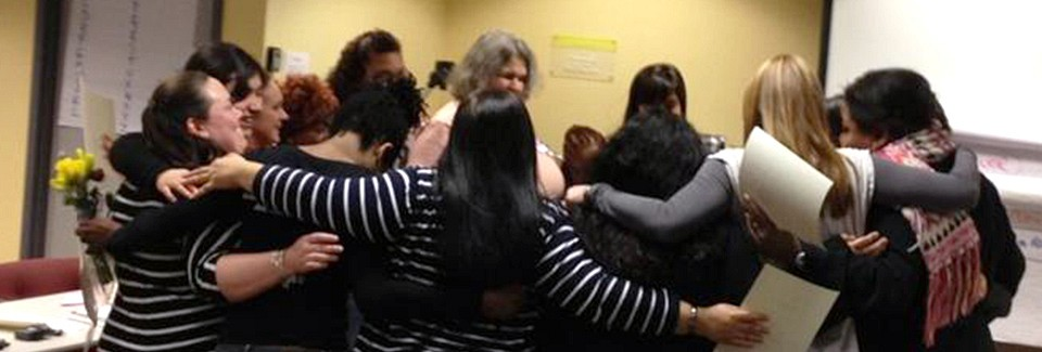 Closing Circle for Domestic Workers Mediation Training